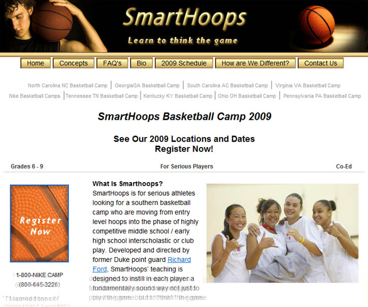 Smarthoops Basketball